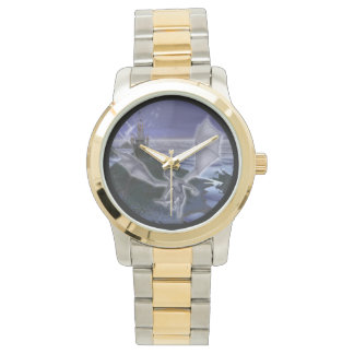 Castle And Dragon Two-Tone Watch