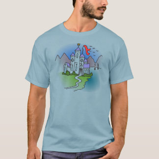 Castle and mountains T-Shirt