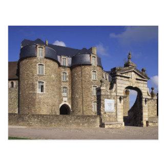 Castle and Museum, Boulogne, Pas-de-Calais, Postcard