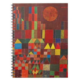 Castle and Sun, Paul Klee Expressionism Figurative Notebook