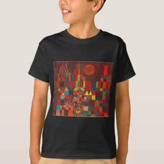 Castle and Sun, Paul Klee Expressionism Figurative T-Shirt