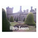 Castle at Alton Towers Postcards