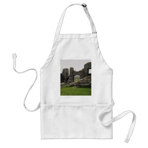 Castle at Newcastle Emlyn, Wales Aprons