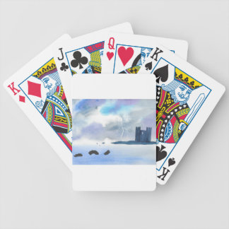 Castle By the Sea Bicycle Playing Cards