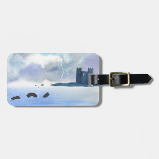 Castle By the Sea Luggage Tag