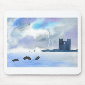 Castle By the Sea Mouse Pad