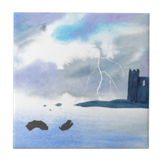 Castle By the Sea Tile