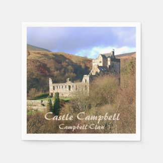 Castle Campbell – Campbell Clan Paper Napkin