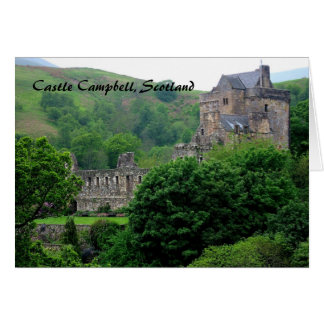 Castle Campbell Greeting Card