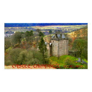 Castle Campbell, Scotland Poster