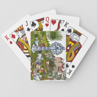 Castle Cross Playing Cards