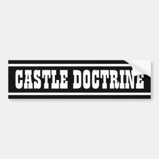 Castle Doctrine Bumper Sticker