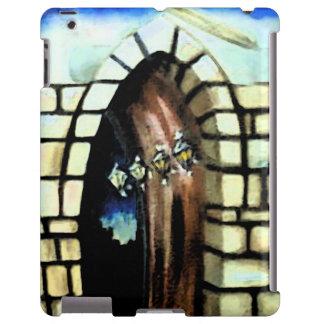 Castle Door iPad Case Gift Fantasy Stone Hallway