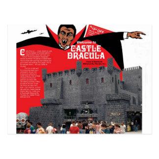 Castle Dracula in Wildwood, New Jersey Postcard
