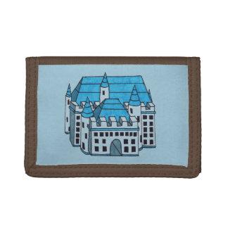 Castle Drawing Tri-fold Wallet