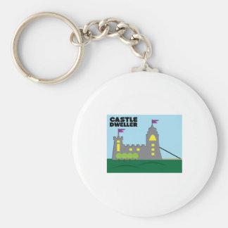 Castle Dweller Keychain