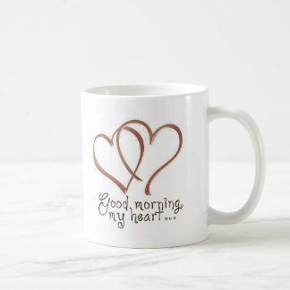 Castle - Good Morning, My Heart [with quote] Coffee Mug