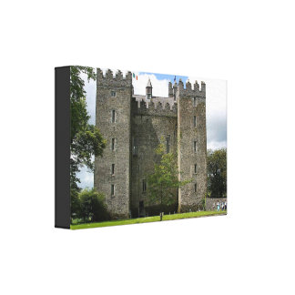 CASTLE HISTORY STRETCHED CANVAS PRINT