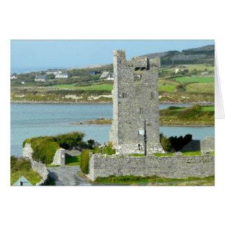 Castle in County Clare, Ireland Card