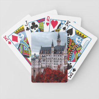 Castle in the Fall Bicycle Playing Cards