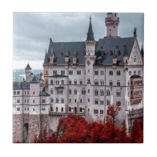 Castle in the Fall Ceramic Tile