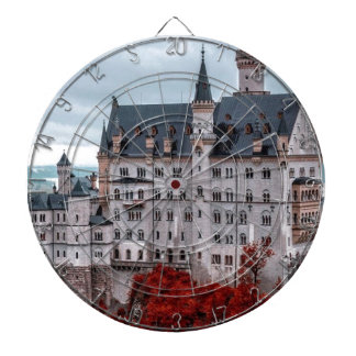Castle in the Fall Dartboard