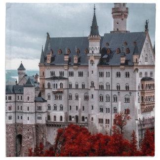 Castle in the Fall Napkin