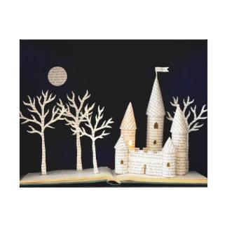 Castle light box 2013 canvas print