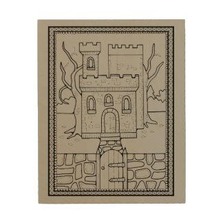 Castle Line Art Design