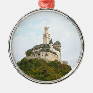 Castle Metal Ornament