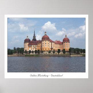 Castle Moritzburg Poster