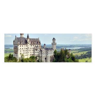 Castle Neuschwanstein Bavaria Germany Business Card Template