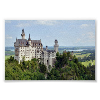 Castle Neuschwanstein Bavaria Germany Poster