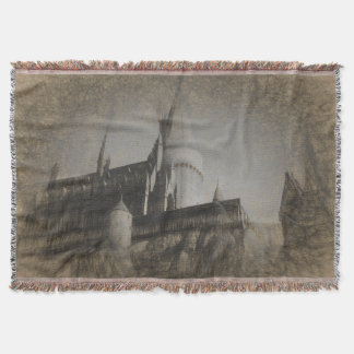 Castle on a Hill Throw Blanket