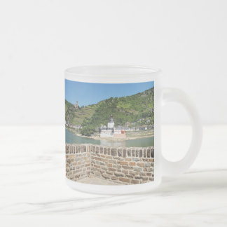 Castle Palatinat count stone with Kaub Frosted Glass Coffee Mug