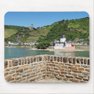 Castle Palatinat count stone with Kaub Mouse Pad