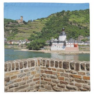 Castle Palatinat count stone with Kaub Napkin