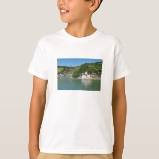 Castle Palatinat count stone with Kaub T-Shirt