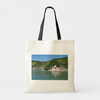 Castle Palatinat count stone with Kaub Tote Bag