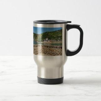 Castle Palatinat count stone with Kaub Travel Mug
