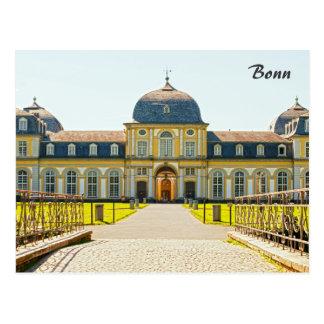 Castle Poppelsdorf  Postcard