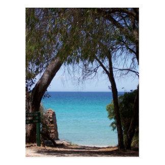 Castle Rock Beach, Western Australia Postcard