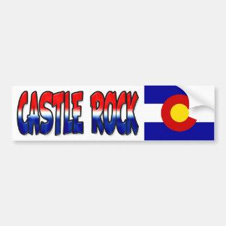 Castle Rock Colorado Bumper Sticker