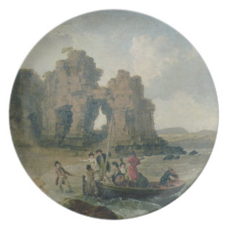 Castle Rock (Flatholm Island), Bristol Channel, 17 Plate