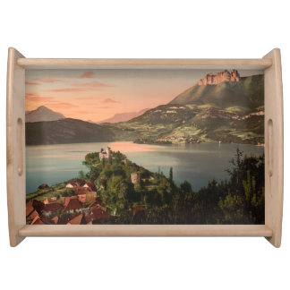 Castle Ruphy, Annecy, France Serving Tray