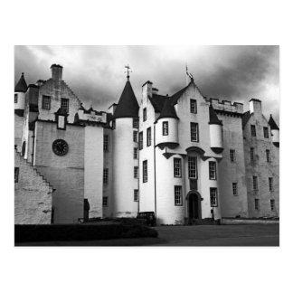 castle scotland highlands postcard