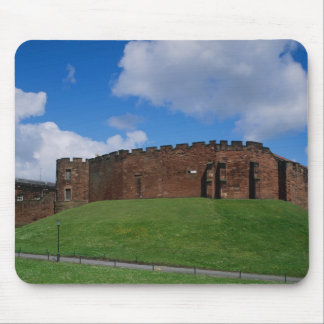 Castle showing half moon tower, Chester, Mouse Pad
