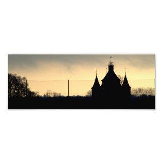 Castle Silhouette Photo Print