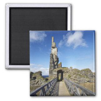 Castle Sinclair Girnigoe, Wick, Caithness, 2 Magnet