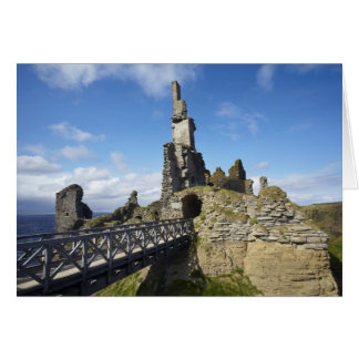 Castle Sinclair Girnigoe, Wick, Caithness, Card